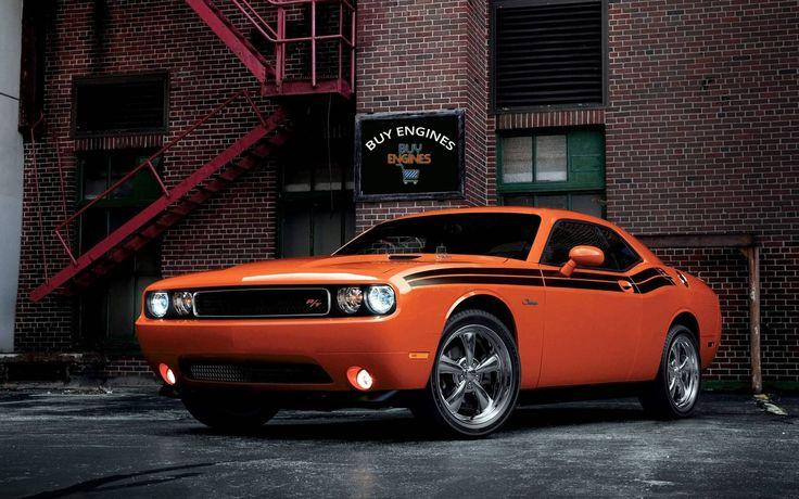 #Dodge #Challenger RT classic car