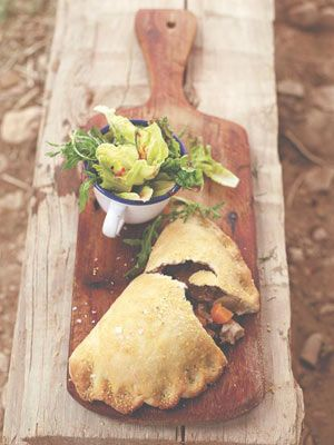 Cornish cowboy pasties Perfect portable comfort food with chicken, squash and sage