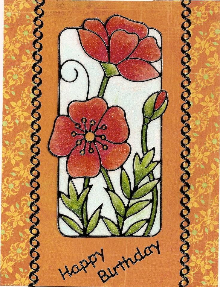 161 best images about cards peel offs on pinterest for Elizabeth craft designs glitter