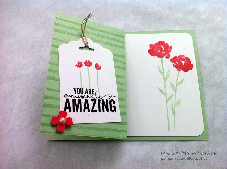 Painted Petals Gift Card Holder http://bit.ly/1aNZu2b