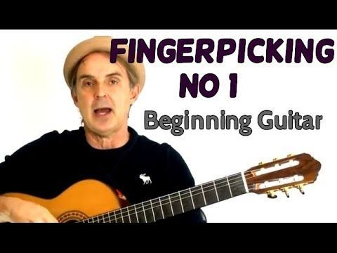 Guitar Fingerpicking Basics | How to Play Fingerstyle Guitar -Tutorial 1 - YouTube