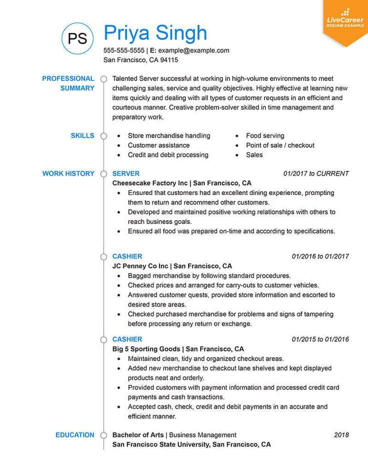 9 Best Resume Formats of 2019 / LiveCareer, , Best