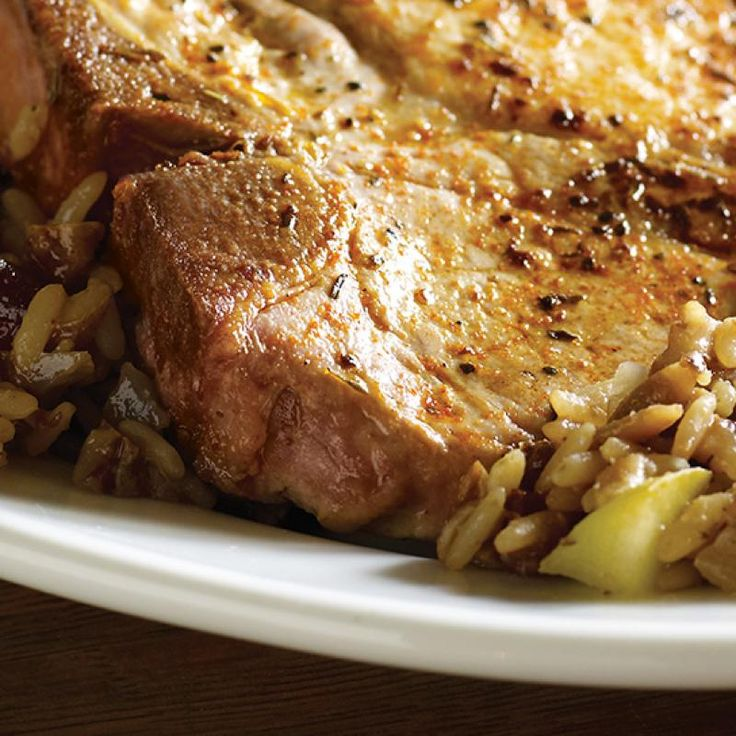Looking for a Creole spin on pork chops? Add them to Zatarain's Black-Eyed Peas and Rice for a one-skillet Hoppin' John dinner – a complete meal in 35 minutes.