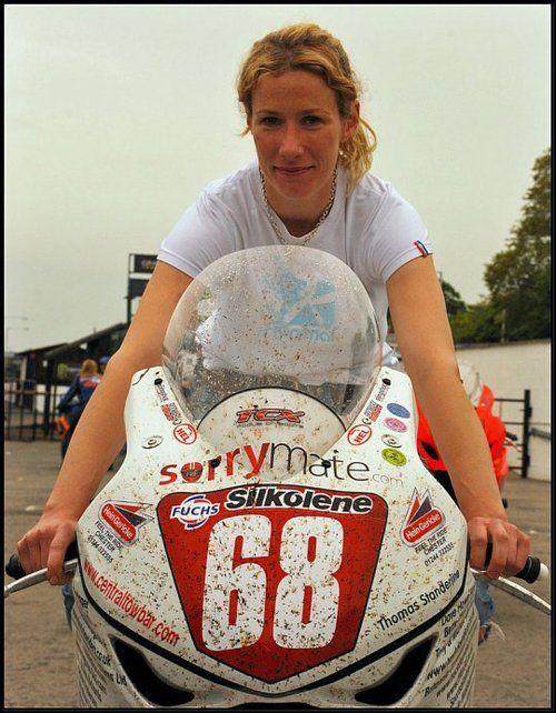 Jenny Tinmouth at Isle of Man TT