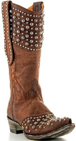 Womens Old Gringo Boots Leigh Anne Chocolate
