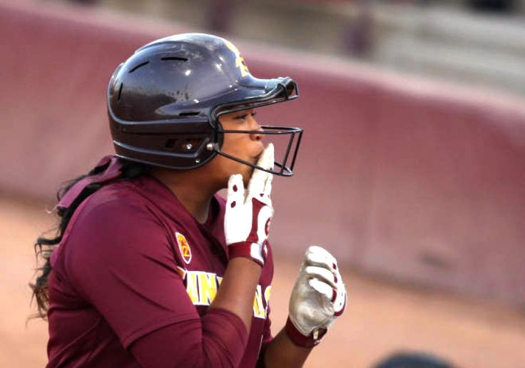 Unbroken Amber Freeman: Senior Catcher One of the Best in ASU Softball History