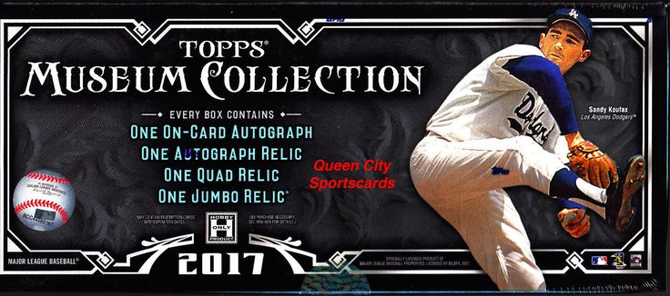 Baseball Cards 213: 2017 Topps Museum Collection Baseball Factory Sealed Hobby Box -> BUY IT NOW ONLY: $219.75 on eBay!