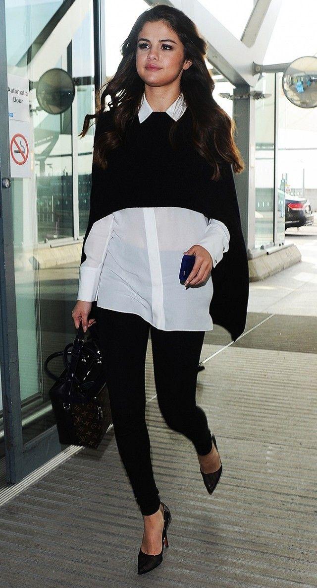 how to wear black leggingsd
