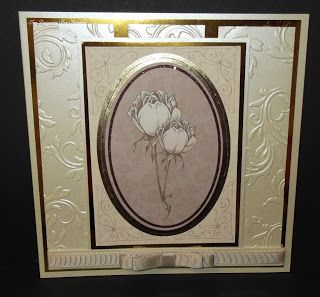 Loves to craft: . Card made using Kanban Vintage Tapestry paper craft collection for floral / female cards.