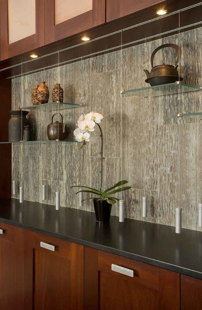How To Choose A Kitchen Backsplash With Images Glass
