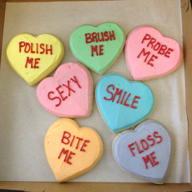 Valentine's Treats for the Dental Office