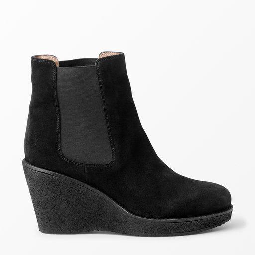 Boots med kilklack - Skor- Köp online på åhlens.se!