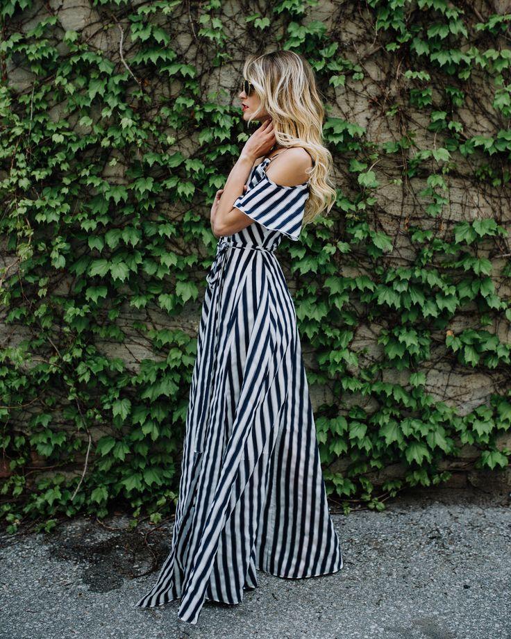 My Fair Lady Wrap Maxi Dress
