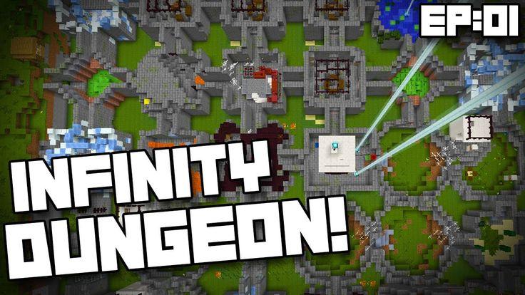 Minecraft Infinity Dungeon Map (Custom)