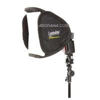 """Lastolite Ezybox Speed-Lite for Small Flash, On or Off Camera... Very well made with quality fabrics allowing for countless foldings and refoldings, this portable modifier has a convenient double baffle. The 24"""" version is also extremely portable."""