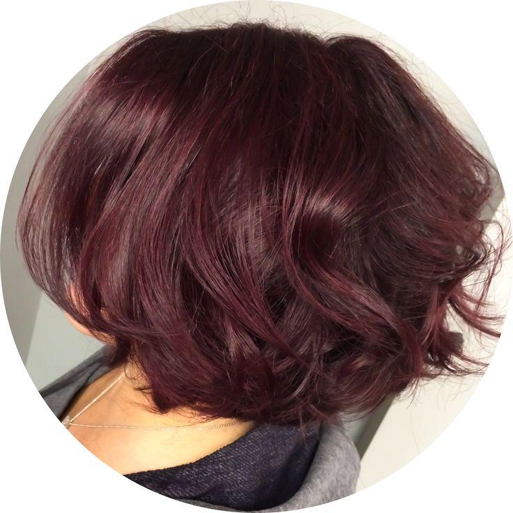 #Howto: Marsala haircolor formula