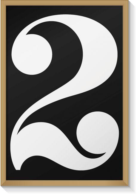 Two HeyShop HeyStudio — 'Pair' print