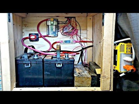 Van Life: Campervan/RV Electrical System Explained - Battery Bank, Wire Gauge, Inverter, Solar ect. - YouTube
