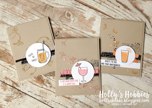 Holly's Hobbies: Stamp Review Crew - Timeless Textures, Stanpin' Up!, Holly Stene