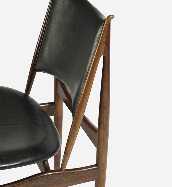 Modern Furniture Auction 24. finn juhl, a set of 8 egyptian chairs for vodder   danish