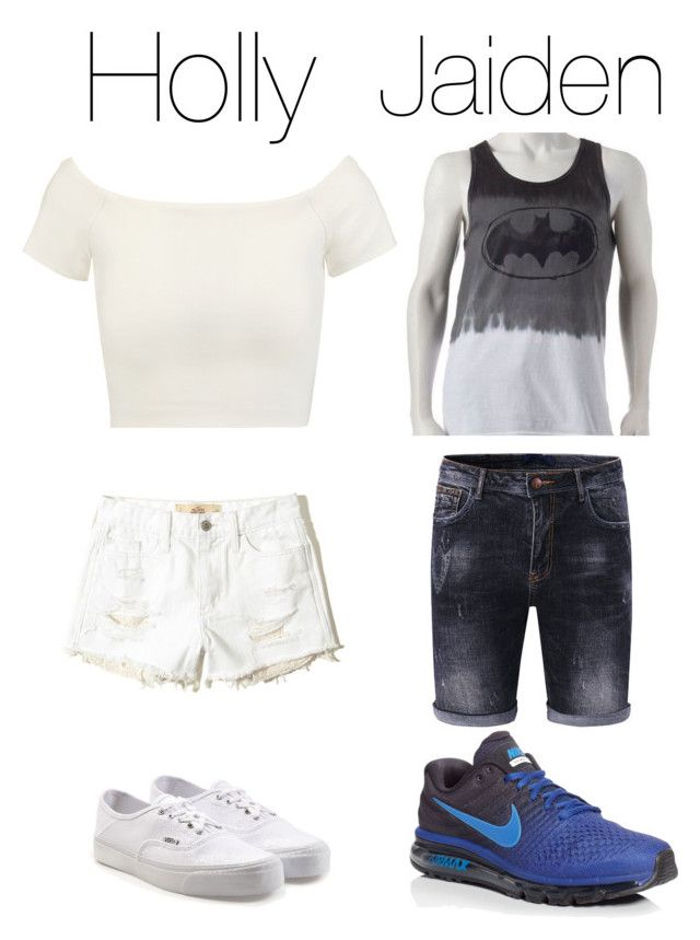 """""""Me and my Boyfriend"""" by crushingholls on Polyvore featuring Alice + Olivia, Hollister Co., Vans and NIKE"""