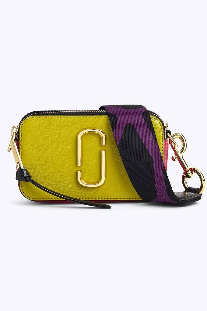 80efa16a0138 Marc Jacobs Snapshot Small Camera Bag in Chartreuse