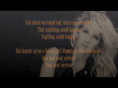 Traduction Anything could happen - Ellie Goulding