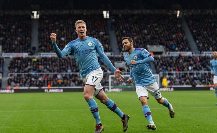 VIDEO: Kevin de Bruyne's stunning goal v. Newcastle em 2020