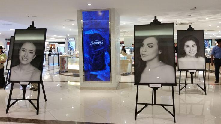 AREUM's star ambassadors