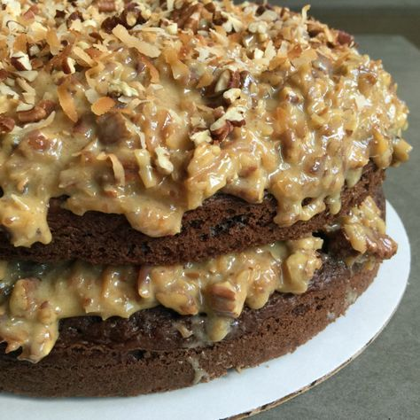 German Chocolate Cake Frosting (Icing)