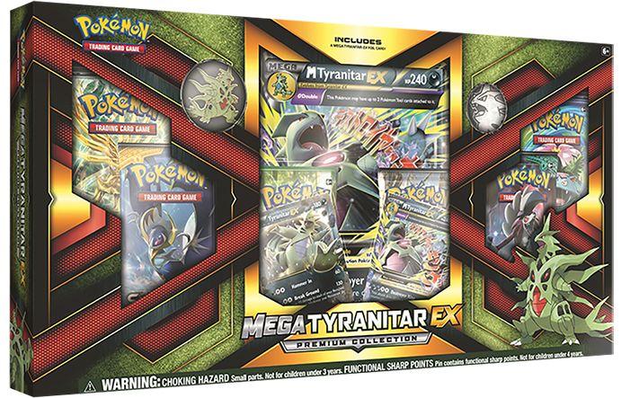 Pokemon Trading Card Game - Mega Tyranitar-EX Premium Collection - EB Games Australia