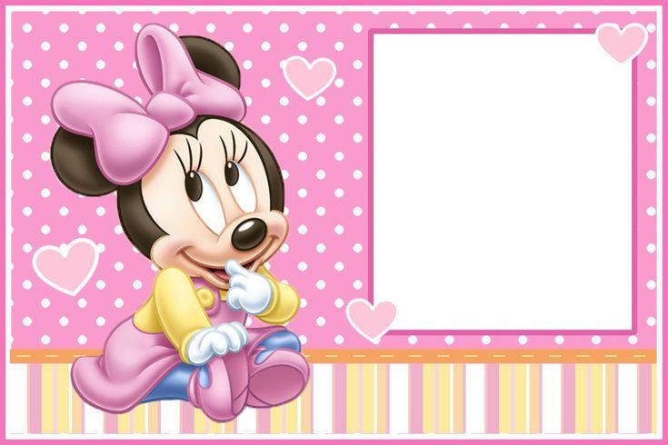 invitaciones de minnie bebe 1 año Buscar con Google minnie Pinterest Hd wallpaper, Bebe