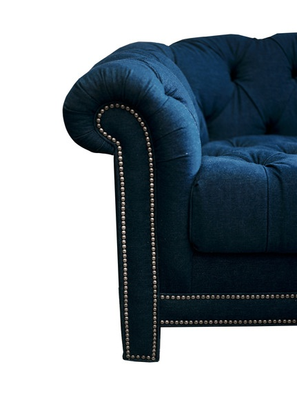 Denim Chesterfield - Sofas - Seating - Furniture - Dering Hall
