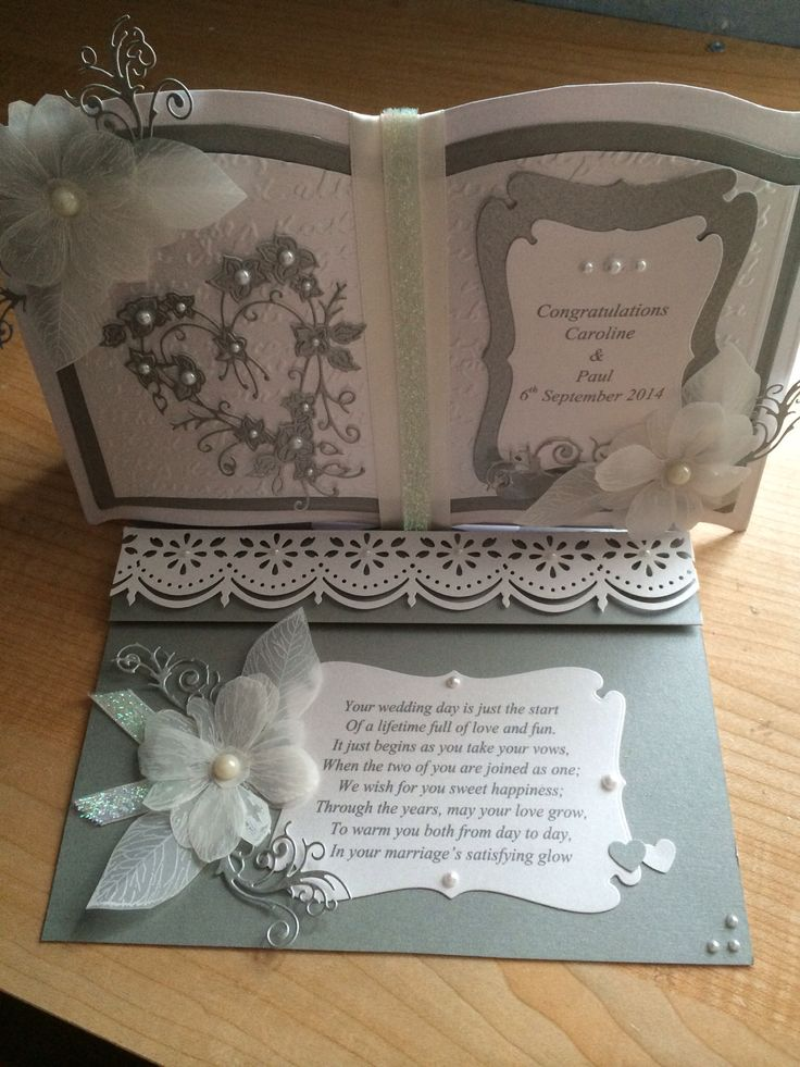 Charming Books On Card Making Part - 3: Wedding Card
