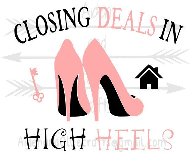 Closing deals in high heels SVG Real