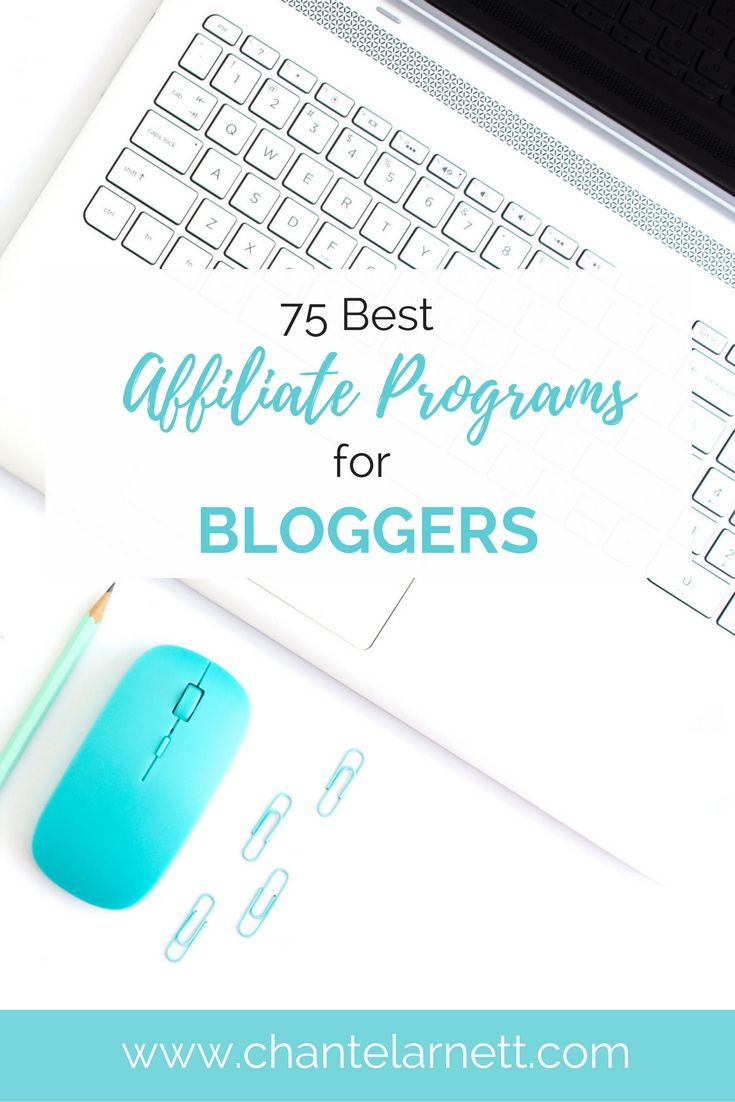 Want to get started making $$$ with your blog? Get this list of 75 affiliate programs for bloggers and get started today!