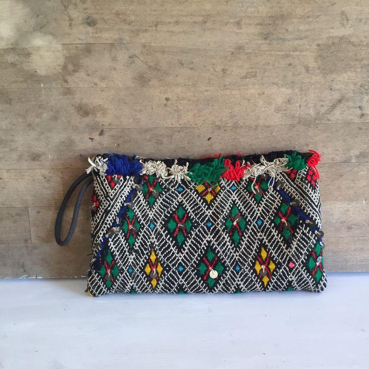 Vintage kilim Handmade bag