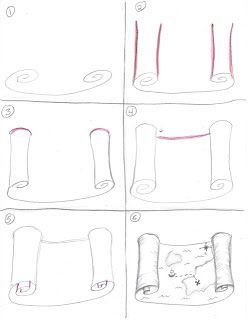 Creator's Joy: How to draw a treasure map (Pir…