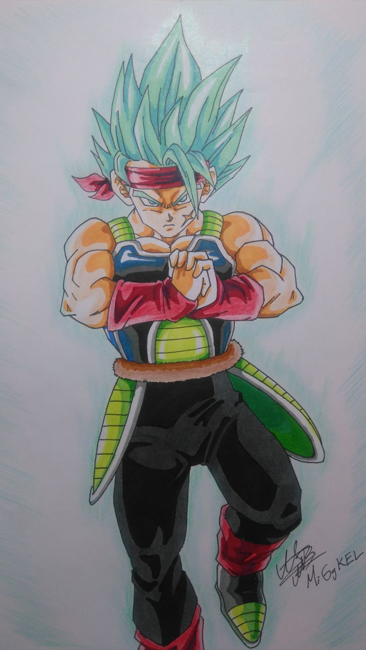 Bardock super saiyan god super saiyan. check the speeddrawing here: https://www.youtube.com/watch?v=4ZxIXzUNDVY&index=5&list=PLkmIeywiOB5oHBlrK9NMLcO5JY23cFt1K