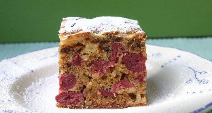 Almás meggyes bögrés süti | APRÓSÉF.HU - receptek képekkel