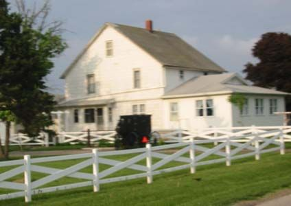 Amish style houses