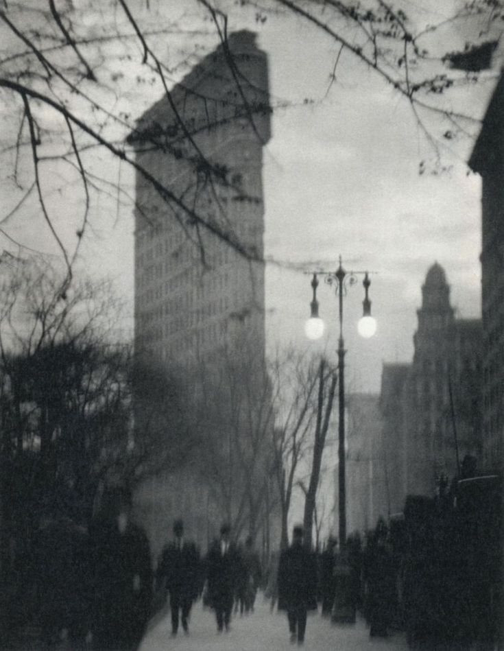 Alvin Langdon Coburn found quiet, abstract beauty in the light and shadows of the landscape of turn of the century New York City.