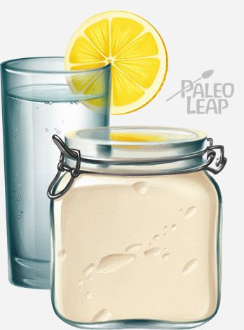 Paleo Mayonnaise | Paleo Leap: 2 egg yolks 1 tsp mustard (this is optional) 3 tsp lemon juice 1/2 cup olive oil 1/2 cup coconut oil