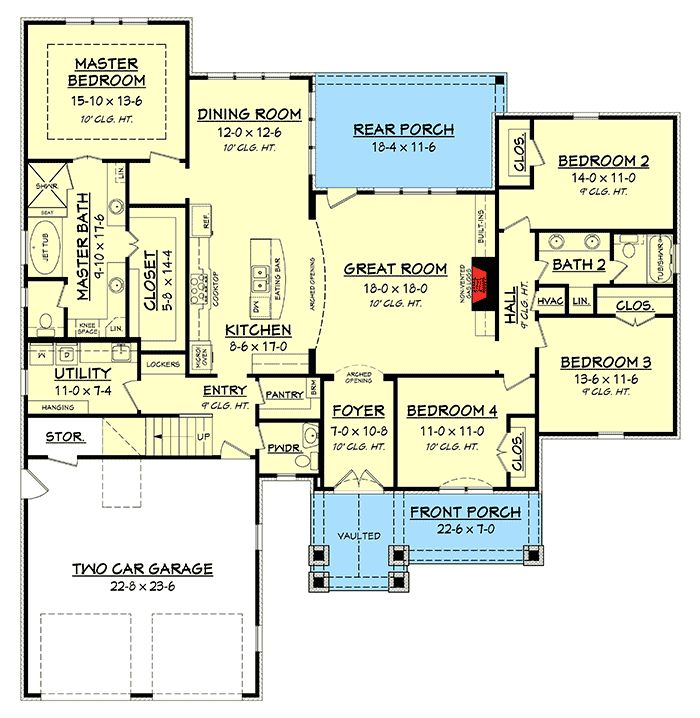 Best 25 acadian homes ideas on pinterest acadian house for Acadian floor plans