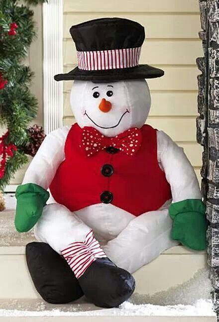 Mens Cotton Pocket Square - Christmas Snowmen Lights by VIDA VIDA D3nKAGpa
