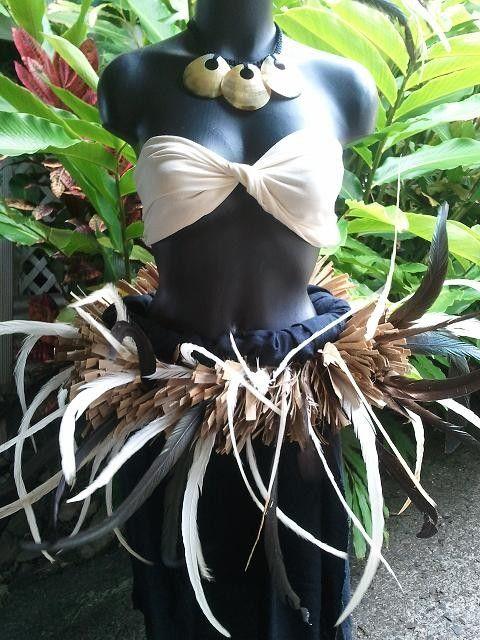 Tahitian costume otea. $145.00, via Etsy.