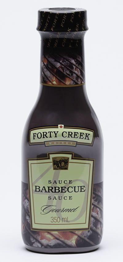 Bring the award winning taste of Forty Creek Whisky to your grill. This outstanding BBQ sauce, made by Heinz Canada, is infused with Forty Creek Whisky for a rich and bold flavour that harbours flavours of honey, vanilla and toasty oak.