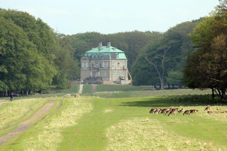 Eremitage castle, Klampenborg, by Tina Bardenfleth