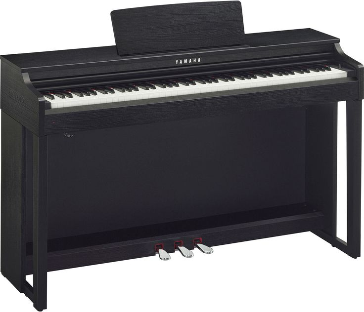 £979 Yamaha CLP525 Clavinova Digital Piano For Sale - UK Pianos Shop Includes: piano stool with storage (matching colour), deluxe headphones, piano music & 5 year UK and Europe home warranty