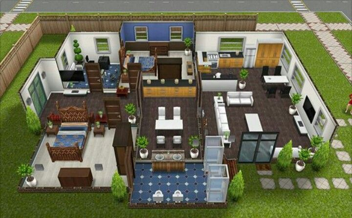 Sims Floor Elevation Cheat : Best the sims freeplay house designs images on